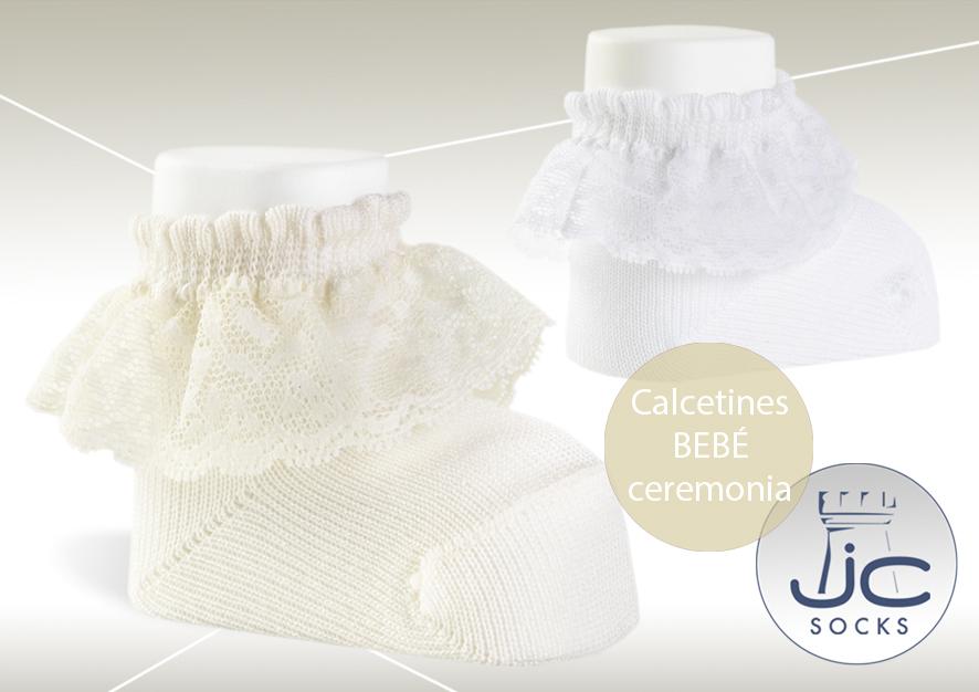 Calcetines ceremonia bebé