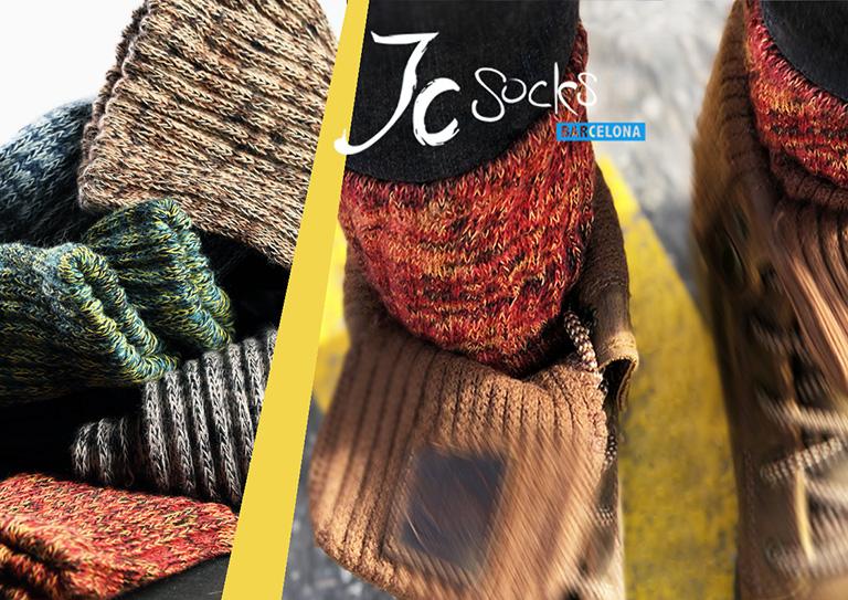Calcetines originales de colores para hombre y mujer