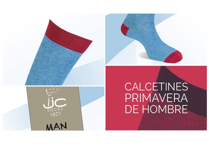 Calcetines primavera de hombre