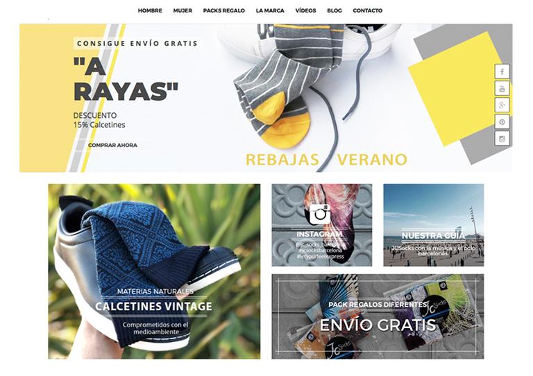 Tienda online calcetines originales