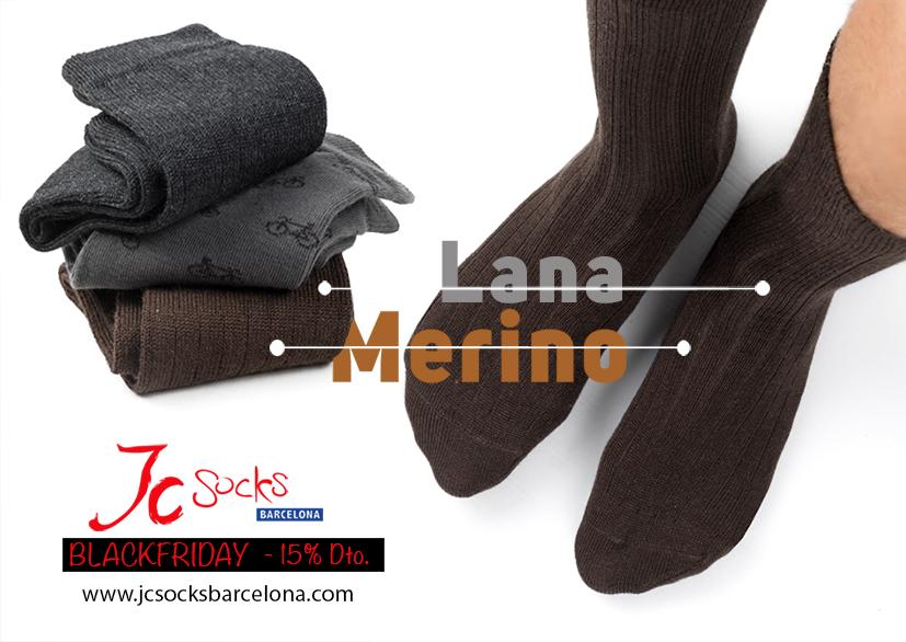 Calcetines de lana para hombre