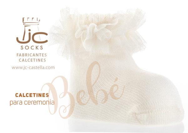 Calcetines bebé para ceremonia