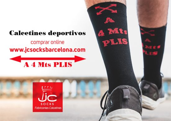 calcetines deportivos distancia social covid19