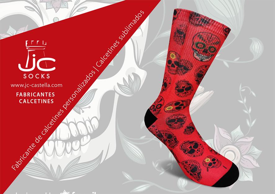 Fabricante de calcetines personalizados sublimación