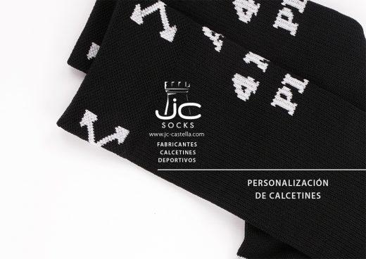 Calcetines deportivos técnicos personalización