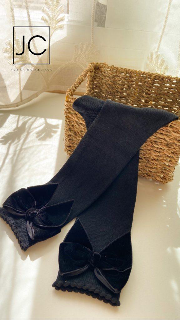 Calcetines con lazo